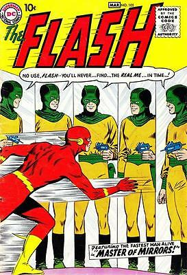 Silver Age - The Flash  - # 105 – 350 – [1959 – 1985] On Dvd