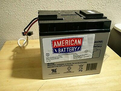 Complete Set Of Brand New American Battery Rbc11 Ups Replacement Batteries (2)