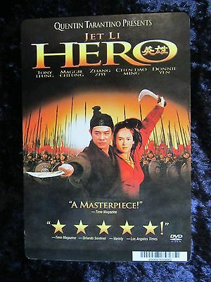 Hero movie backer card (this is not a movie) - Jet Li