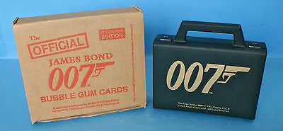 The Official James Bond 007 Bubblegum Card Set by Daleon 1997 - 1 of 5000 Sets