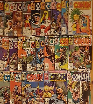 Conan the Barbarian #117-#121, #123-#139 - December 1980 US Marvel Comics