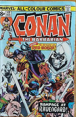 Conan the Barbarian #48 - March 1975 UK Marvel Comic