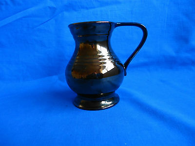 art deco vintage Beswick copper lustreware tankard mug jug 2220-2 collectable