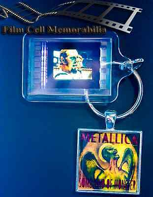 Metallica - 35mm Film Cell Movie KeyRing and Pendant Keyfob Gift