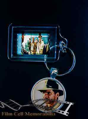 Indiana Jones - 35mm Film Cell Movie KeyRing and Pendant Keyfob Gift