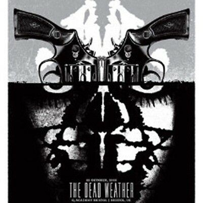 The Dead Weather - 2009 Aesthetic Apparatus poster Bristol Jack White