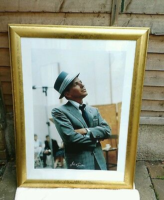 FRANK SINATRA LARGE Framed Picture - size 34 3/4 x 26 1/4.
