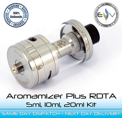 Aromamizer Plus 30mm RDTA by Steamcrave - Full Kit 5ml,10ml, 20ml - Awesome BNIB