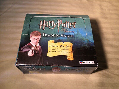 Artbox Harry Potter and The Order Of The Phoenix Trading Cards 24 Sealed Packs