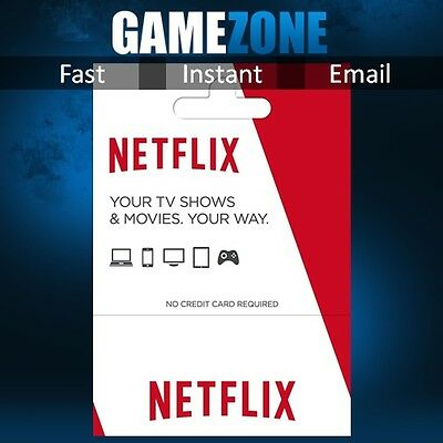 Netflix USA $25 Gift Card - $25 USD Digital Card - United States