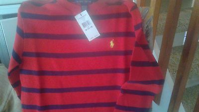 Polo Ralph Lauren Boy Long Sweater Size Medium 10-12