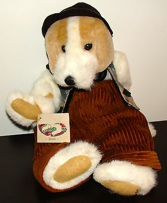 "Ganz Cottage Collectibles Kurtis Dog 14"" CC1204 1996 WITH ALL TAGS - Z"