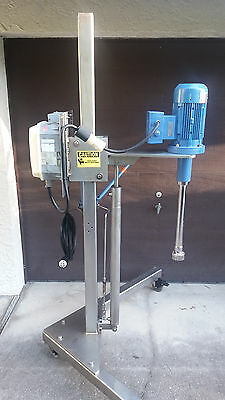 IKA high speed rotastator paint disperser Mint Condition Stainless Steel stand