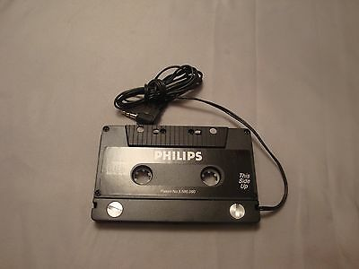 Philips Cassette Tape Adapter for IPod MP3 Zune CD DVD Galaxy S5 S4 Car PH2050W