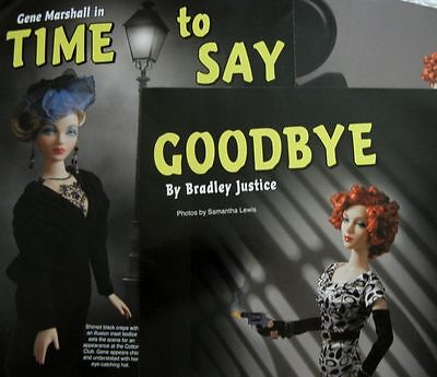 26p History Article + Pictorial -  A Farewell to the Gene Marshall Fashion Doll