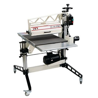 Jet 22-44 Pro Drum Sander 3HP, 1Ph, DRO, Tables and Casters 649600