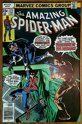 the Amazing Spider-Man #175 HIGH GRADE NM- (9.2) Early PUNISHER Appearance