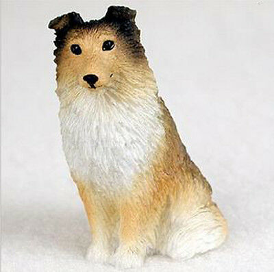 SHELTIE (SABLE) TINY ONES DOG Figurine Statue Resin Pet Lovers Gift