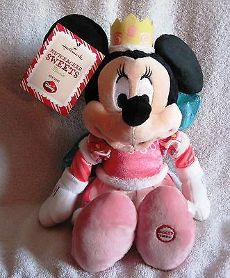 """New With Tags - 14"""" Minnie Mouse Plush - Nutcracker Sweets +Sound - Great Gift!"""