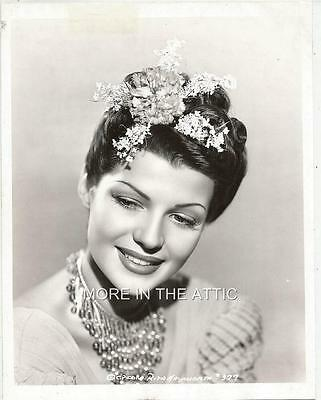 Ravishing Radiant Rita Hayworth Hollywood Portrait Still #12
