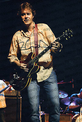 """SIGNED! Jim Cuddy Blue Rodeo Concert  Photo Matte 8""""x12"""" Version 1 of 3"""