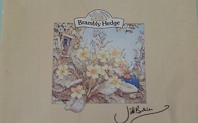 Jill Barklem Brambley Hedge Vintage Plastic cookware containers. Never used.
