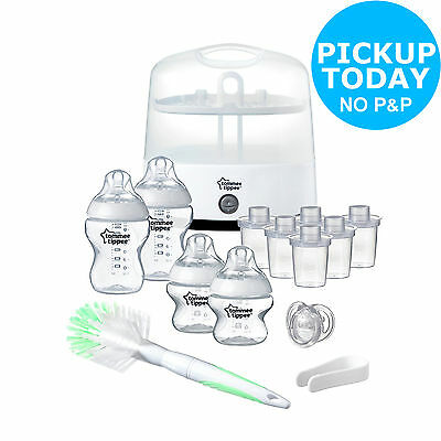 Tommee Tippee Closer to Nature Electric Steriliser Kit - Green -From Argos ebay