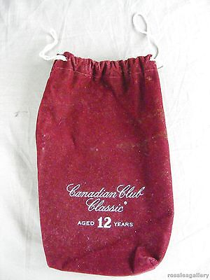 Canadian Club Classic Aged 12 Years Velvet Bag