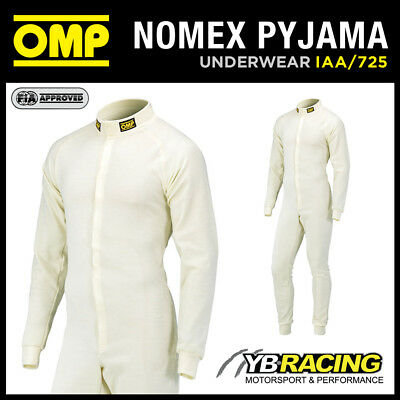 Sale! Iaa/725 Omp All In One Fireproof Pyjama Suit Nomex Fia 8856-2000 Approved