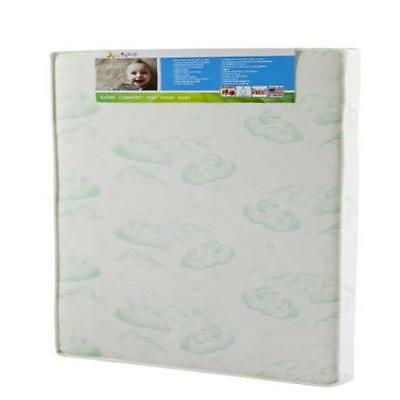 "Dream On Me 3"" Playard Mattress White Waterproof Comfort MYTODDLER New"