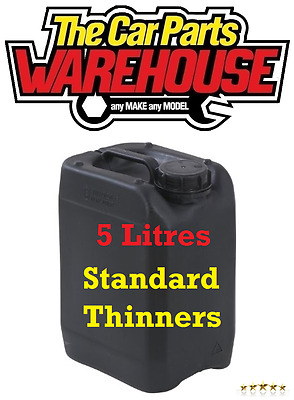 ? 5L LITRES Standard Thinners Gun Wash Parts Cleaner Paint Thinner Cellulose ??