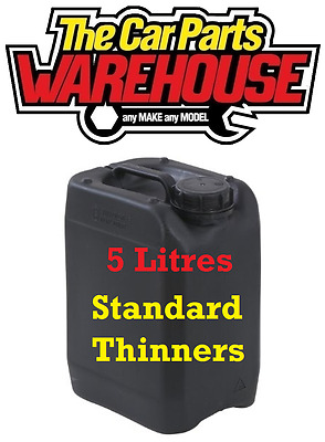 ? 5L LITRES Standard Thinners Gun Wash Spray Cleaner Paint Thinner Cellulose ??