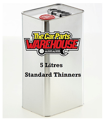 5 LITRES Standard Thinners Gun Wash Spray Cleaner Paint Thinner Cellulose
