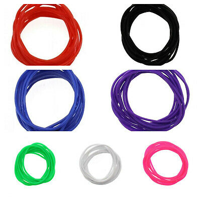 12 Pack Gummy Bangles Bracelets Wristbands Fancy Dress - Choose Color - BNWT