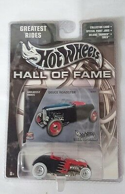 Hot Wheels Hall of Fame Greatest Rides Deuce Roadster MOONEYES RARE CHROME RR