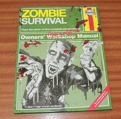 Haynes Zombie Survival Owners Workshop Apocalypse Manual Gift Birthday Present