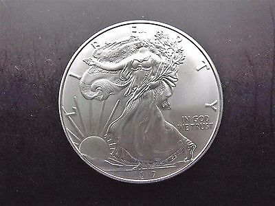 2017 American Silver Eagle 1oz Bullion Coin