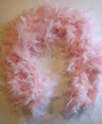 Feather Boa 72 Inch 60 Gram Pink Chandelle Boa Bnew
