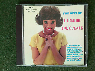 The Best of Leslie Uggams CD Original Recordings Limited Edition