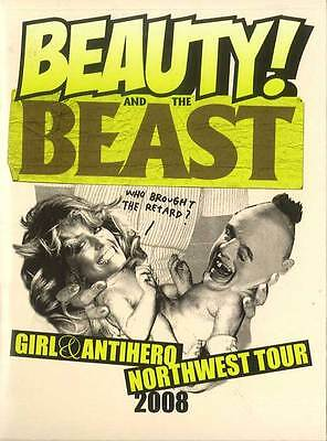 Girl & Antihero Beauty And The Beast Skateboard DVD's Skate Northwest Tour 2008
