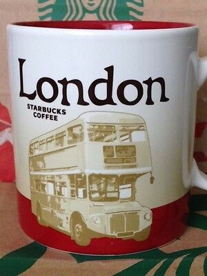 NEW Starbucks 2015 LONDON (version 2) 16 oz mug NEW!