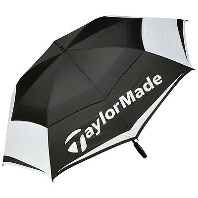 "TAYLORMADE 64"" TOUR LOGO WindPro® DUAL CANOPY VENTED GOLF UMBRELLA / 2018 MODEL"