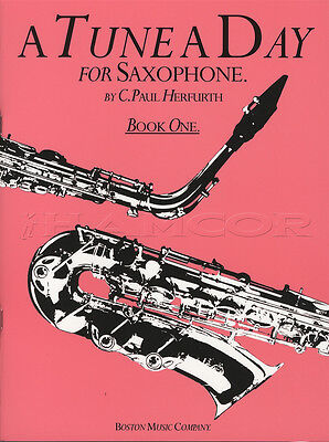 A Tune A Day for Saxophone 1 Sheet Music Book Learn How To Play Method