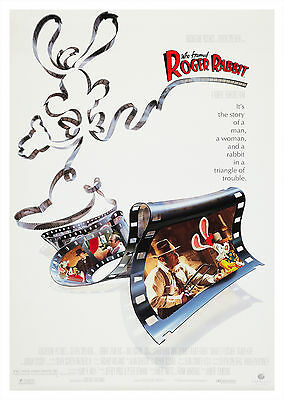 Who Framed Roger Rabbit (1988) - A1/A2 POSTER **BUY ANY 2 AND GET 1 FREE OFFER**