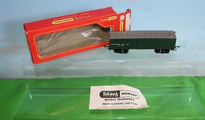 Triang Hornby R344E Track Cleaning Wagon With Instructions And Box Export Versio