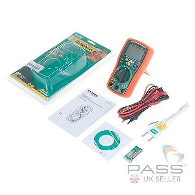 *NEW* Genuine Extech EX330 12-Function Mini Multimeter + Voltage Detector / UK