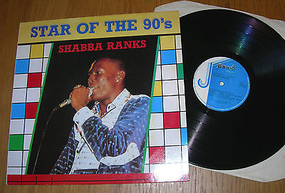SHABBA RANKS – STAR OF THE 90'S LP Jammys