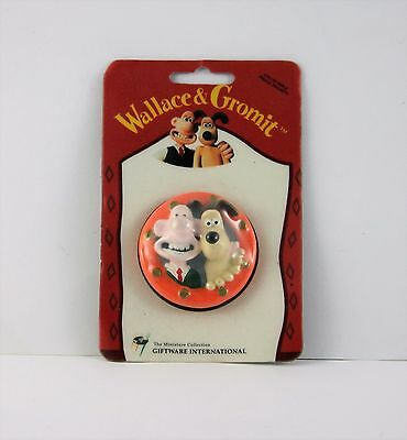 Wallace And Gromit 3D Fridge Magnets - 1989