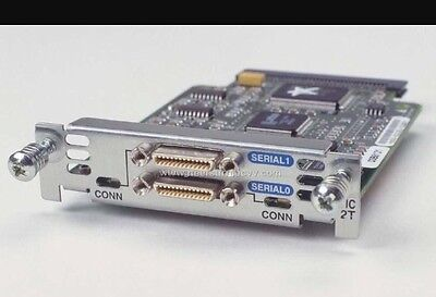 Wic-2T Cisco 2 Port Serial Interface Card
