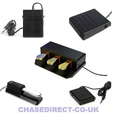 Sustain Damper Pedal Foot Switch Casio Yamaha Korg Roland Universal FC5 SP3 TB5